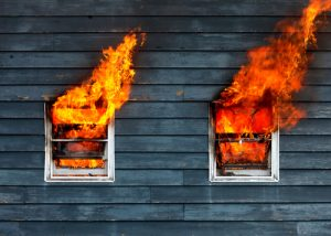 How to repair fire damage to exterior wall