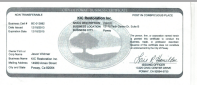 KIC Restoration Poway Business License